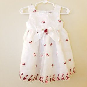 4/$25 Youngland Formal Floral Dress Youngland